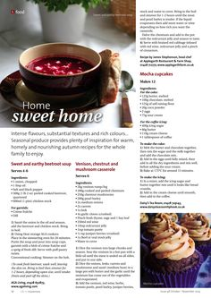 ~ Home sweet home ~ October - November #locallife #Haslemere #Surrey #food #recipes #family #autumn #healthy #inspiration