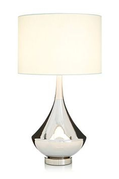 Buy Oriana Nickel Stick Table Lamp From The Next UK Online