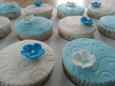 Cupcakes doop - cupcakes christening