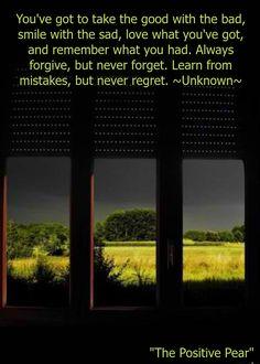 Learn, Never Regret!