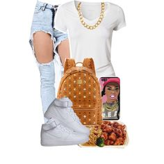 School Outfit Follow my NEW polyvore account,for more looks like this one!!