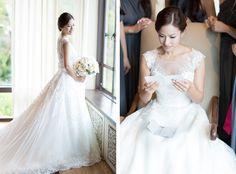 good profile of the dress shot