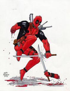 #Deadpool #Fan #Art. (Deadpool) By: DavidNewbold. (THE * 5 * STÅR * ÅWARD * OF: * AW YEAH, IT'S MAJOR ÅWESOMENESS!!!™)[THANK U 4 PINNING!!!<·><]<©>ÅÅÅ+(OB4E)