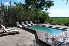 Linyati Bush Camp - Linyanti Safari - Picasa Web Albums Two Twin Beds, Comfortable Sofa, Albums, Safari, Tent, Camping, Outdoor Decor, Picasa, Comfortable Couch