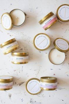 Each birth month candle features a flower and scent profile to match the special month. Hand poured, candles are 100% soy wax with a lead-free cotton wick. Made with premium fragrance and essential oils. Birth Month Flowers, Corgi Gifts, Photo Candles, Unique Birthday Gifts, Fabric Gifts, June Birth Stone, Soy Candles, Gifts For Her, November