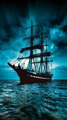 boat wallpaper by dathys - bd - Free on ZEDGE™ Pirate Boat Tattoo, Boat Wallpaper, Old Sailing Ships, Pirate Art, Pirate Ships, Ship Paintings, Ghost Ship, Boat Art, Boat Painting