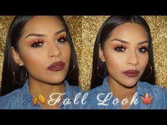 Fall Look Morphe 35O Eyeshadow Palette | Sarahy Delarosa - YouTube