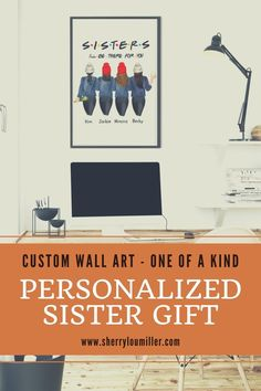 Are you looking for birthday gift ideas for your sister's birthday? Are you looking for a one of a kind gift idea? Customize the wall art as a reminder that she is the best sister ever. Make your sister feel special with this personalized sister wall art picture. Click the link to place your order today. Sister In Law Gifts, Birthday Gifts For Sister, Unique Birthday Gifts, Best Friend Birthday, Best Sister Ever, Gifts For Family, As You Like, Wall Art, Wall Decor