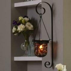 Amaretto Swirl Wall Sconce by PartyLite® Candles : CLEARANCE $30 (Reg. $65.00)  While supplies last..... http://www.partylite.biz/legacy/sites/nikkihendrix/productcatalog?page=productdetail&sku=P90924&categoryId=55268&showCrumbs=true