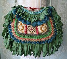 Boho Bag // Magnolia Pearl // Gypsy Handbag / by TurtleDoveBagsEtc