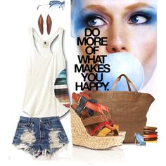 """sun-date fun"" by diamndz on Polyvore"
