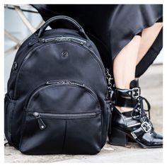 01bcdf2fda85 Bag featured is our new Joy Black Scuba £145 .  veganleather  bag