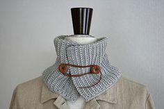 うね編みアレンジのネックウォーマー_かぎ針編み Crochet Collar, Knit Crochet, Diy Accessories, Couture, Sewing Crafts, Free Pattern, Diy And Crafts, Stitch, Knitting