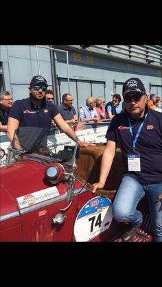 Andrea G. e Andrea V. vincono la meravigliosa Mille Miglia 2016.  GRAZIE RAGAZZI!! Andrea G. and Andrea V. win the wonderful Mille Miglia 2016!! THANK YOU GUYS!!