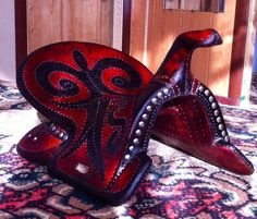 Kazakh saddle