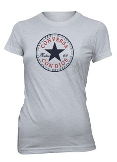Conversa con Dios Camiseta Cristiana Mujer  (http://www.aprojes.com/conversa-con-dios-camiseta-cristiana-mujer/)