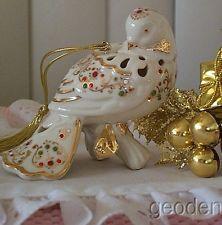 lenox bejeweled christmas dove 2008