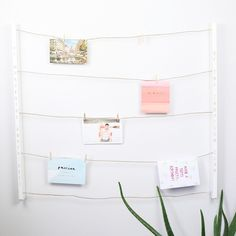 Create a wall display to suit your style with this contemporary & highly practical personalised 'hangit' photo display by Umbra at Lisa Angel. Free delivery.