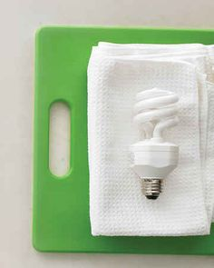 Unscrew light bulbs and wipe off with a microfiber cloth. | 37 Deep Cleaning Tips Every Obsessive Clean Freak Should Know