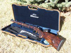 Beautiful rifle-: Blaser K95 Stutzen Attache, in 7 x 57R. And it's MINE!