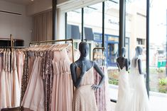 Making a trip to BHLDN soon! Blush Bridesmaid Dresses at BHLDN / LivvyLand Blog