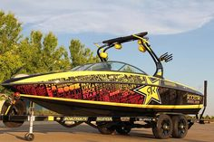 Supra Boat Sweepstakes    Enter for a chance to win a Rockstar branded Supra Boat valued at $85,000. From Rockstar Energy Drinks.    Restrictions: 18+, USA  Expires: November 30, 2012