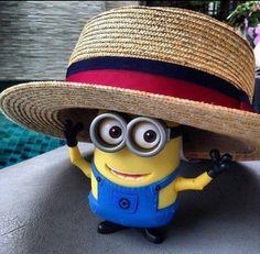 Minion Minions fans despicable me 2 yellow black humor love cute señor hat Amor Minions, We Love Minions, Minions Despicable Me, Minions Quotes, Minions 2014, Happy Minions, Minions Images, Minions Minions, Despicable Me