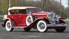 1936 Duesenberg Model SJ Dual Cowl Phaeton by LaGrande - (Duesenberg Automobile & Motors Company, Inc. Auburn, Indiana,1913-1937)