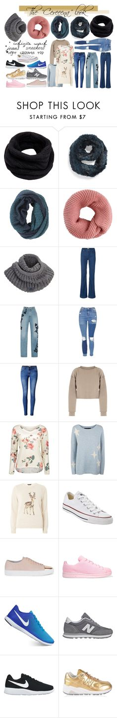 """Cereena"" by maiaytina on Polyvore featuring moda, Helmut Lang, Jocelyn, Title Nine, adidas, Jonathan Simkhai, Topshop, WithChic, My Mum Made It y 360 Sweater"