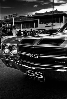 If you have a Chevelle SS we also sell the Mirror Polished Stainless Steel 'SS' emblems at Morris Classic!