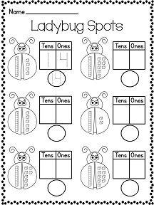 1st grade math worksheets place value tens ones 1 math first grade math worksheets 1st. Black Bedroom Furniture Sets. Home Design Ideas