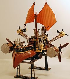 LEGO Radiant Kestrel Airship