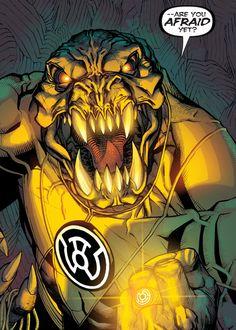 "Arkillo in Green Lantern Corps #28 ""The Hunt"" - Bernard Chang"