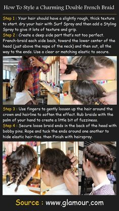 Double French Braid | Beauty Tutorials
