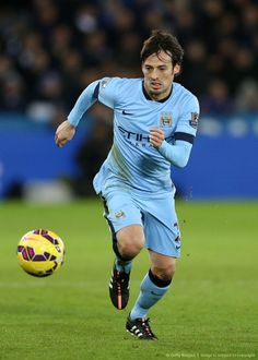"David Silva, Manchester City one of my favourite footballers from my favourite club. ""So technical"""