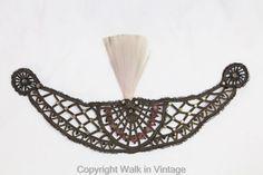 RARE Vintage Antique 1918- 1920s Beaded Headband Tiara Flapper Gatsby Girl #headband