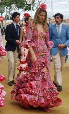 Trajes de flamenca.