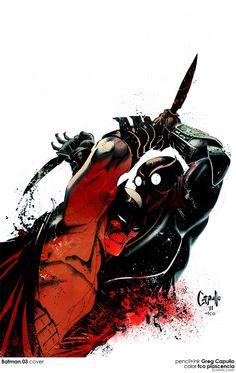 Batman vs Talon!