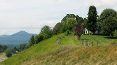 House on a hill...Burnsville, NC