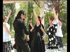 Todo el énfasis en la expresión corporal de estas jóvenes bailando una Sevillana con la fuerza de la sangre española en sus venas. Realmente lo hacen con el ...