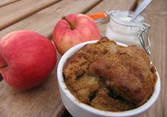 Apple & cinnamon muffin pots (dairy free, egg free) | Free From Farmhouse