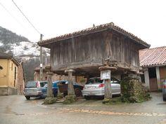 Horreo. Asturias, España.