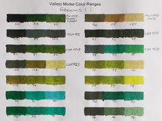 Vallejo Model Color Paint charts and triad combinations Paint Color Chart, Paint Charts, Paint Colors, Vallejo Paint, Google Storage, Figure Painting, Google Drive, Colours, Diorama