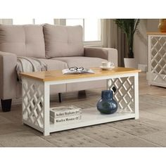 Shop for Convenience Concepts 'Cape Cod' White Wood Coffee Table. Get free shipping at Overstock.com - Your Online Furniture Outlet Store! Get 5% in rewards with Club O! - 19337531