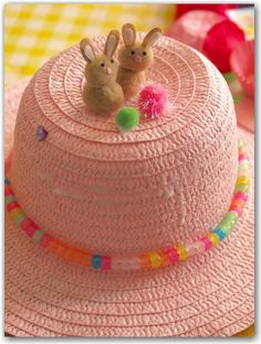 Easter Bonnet Ideas - Here Come the Girls | Here Come the Girls