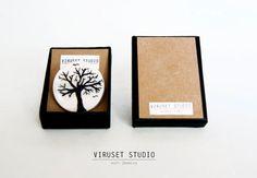 Ceramic brooch by Viruset Studio viruset.etsy.com  #ceramics #ceramic #brooch #jewelry