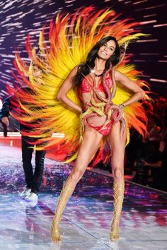 Joan Smalls - Fireworks, Victoria's Secret Fashion Show 2015