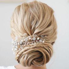 Bridal Twisted Chignon