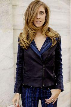 Malhia Kent x 7 for all Mankind moto jacket, love the detail