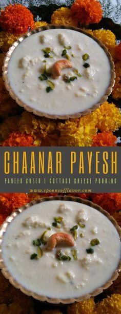 paneer payesh | chanar payesh recipe